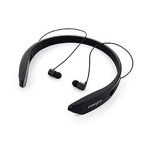 Cannice W2 Sports Wireless Bluetooth In-Ear Earphone HeadsetFor Oppo A31 (Black)