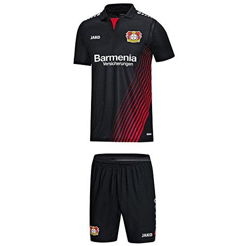 Jako Bayer 04 Leverkusen Babyset 2017/2018 Heim schwarz-rot schwarz/rot, 116