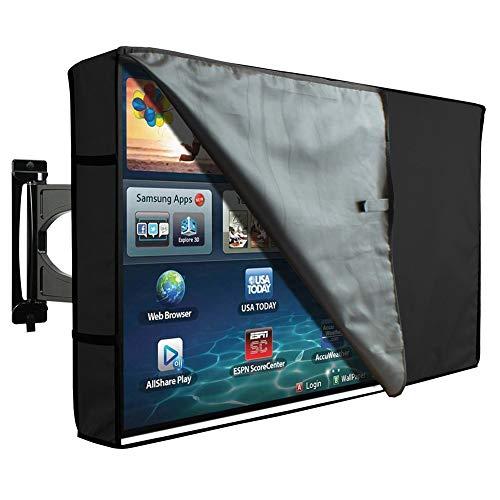 Gartenmöbel Schutzhülle, TV-Außenabdeckung mit klarer Vorderseite - wetterfester Universalschutz für LCD-, LED- und Plasma-Fernseher (Size : 36-38inch) (Tv Zoll Led 36)