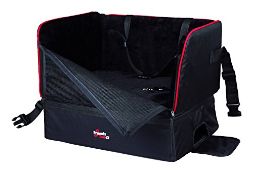 Trixie Car Seat, 45 × 38 × 37 cm, Nero
