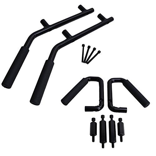 wanoos-black-front-rear-grab-bar-grab-handle-kit-for-jeep-wrangler-jk-4-door-2007-2017