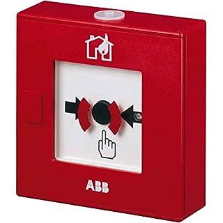 ABB Stotz S&J Brandmelder MHD 4/KL Feuerwehr,rot,LED Nichtautomatischer Melder für Gefahrenmeldesystem 4013232667008
