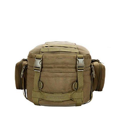 Z&N Backpack 50L Grande Capacità Zaino Combinato Borsa A Tracolla Esterna Zaino Tattico Attacco Militare Borsa Da Viaggio Viaggio Alpinismo Borsa Da Viaggio Uso Quotidiano B 50L C