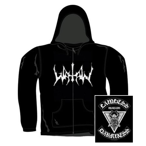Watain - Zip Kapuzensweater Lawless Darkness (in XL)