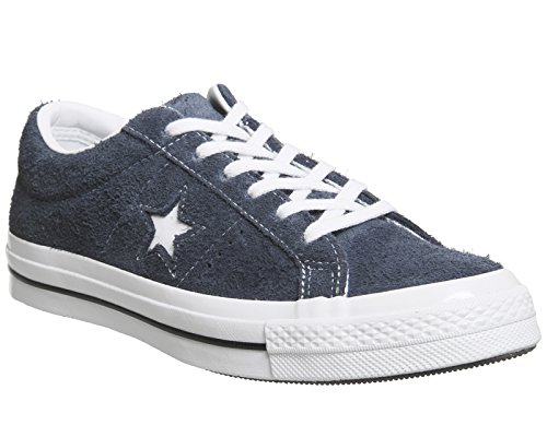 Converse One Star Ox Homme Baskets Mode Bleu blue