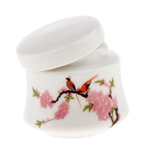 Sharplace Chinesischer Muster Tee-Kaffeedose Honigbehälter Kosmetik Aufbewahrungsdose, aus Keramik...