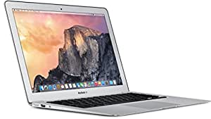 "Apple MacBook Air Portatile, 13"", 1.6GHz, 4 GB RAM, 256 GB SSD, Intel HD Graphics 6000, Argento"