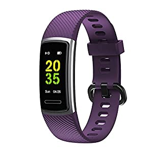 2019 Fitness Tracker HR, Activity Tracker Gesundheitssportuhr mit Herzfrequenz- und Schlafmonitor, Smart Calorie Counter, Schrittzähler, Walking Men, Women and Children