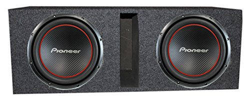2 Pioneer TS-W304R 12 2600W Subwoofers Car Subs Vented Ported Box Enclosure  available at amazon for Rs.34294