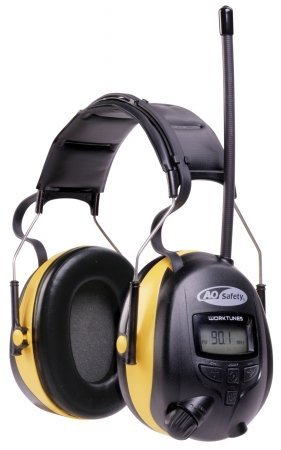 3 M Protection auditive TEKK WorkTunes Earmuff Compatibilité MP3 Récepteur AM/FM