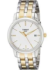 Tissot CLASSIC DERAM T0334102201100 - Reloj de caballero de cuarzo, correa de acero inoxidable color varios colores