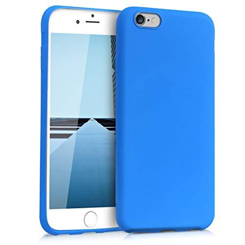 e 6 / 6S Hülle - Handyhülle für Apple iPhone 6 / 6S - Handy Case in Neon Blau ()