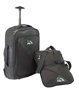 Cabin Max Oslo–Rucksack Rollen zertifiziert nach–Mit abnehmbare Tasche auf der Vorderseite.