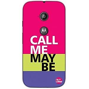Designer Motorola Moto E2 3G Case Cover Nutcase -Call Me Maybe