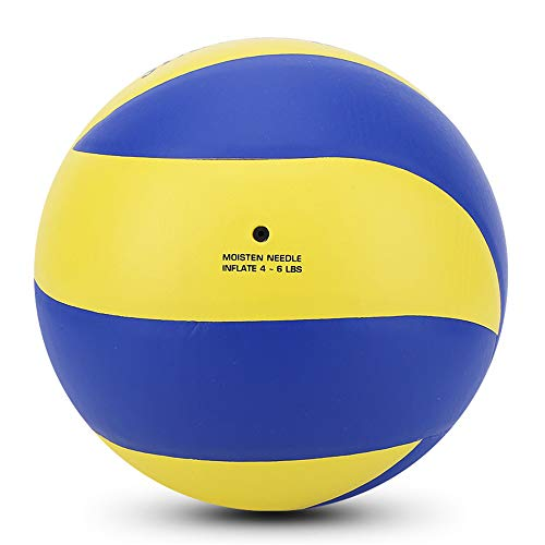 WXH Volleyball/Offizielle Skala 5Th Ball Composite Leder Volleyball Soft Touch Volleyball für Outdoor Indoor Beach Gym Game Ball und Professional Training Ball