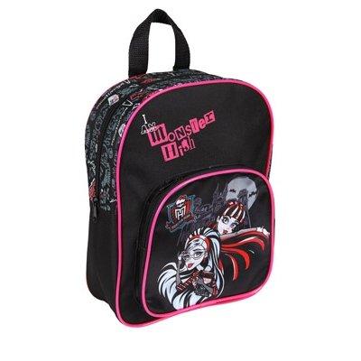 Undercover mhin7600–Sac à dos avec poche avant Monster High, Env. 30x 23x 9cm
