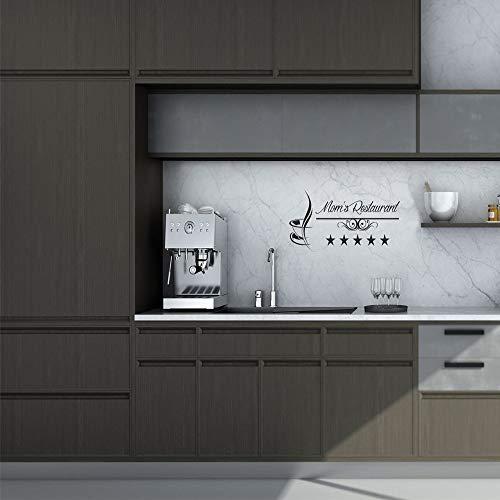 kleber Abnehmbare Vinyl Wandbild Poster Für Kinderzimmer Küche Dekoration Vinyl Aufkleber auf sciane-11x28 cm ()