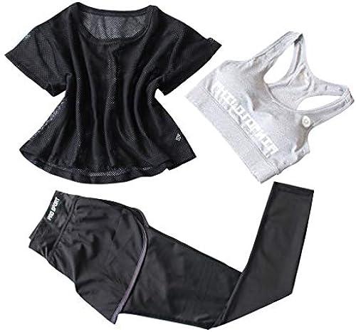 buy popular b91ea acbf5 ABsoar Leggings Sportanzug Set Damen, Yoga Anzug Frau ...
