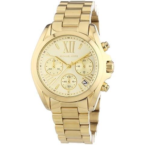 Michael Kors MK5798 - Reloj de cuarzo con correa de acero inoxidable para mujer, color dorado