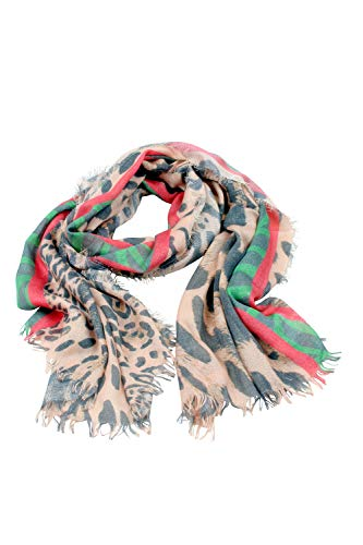 collezione alessandro Leoschal Trendborg Made in Italy mit Streifen in rot-grün 200cm x 70cm -