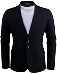 Tom's Ware - Mode Blazer a Deux Boutons Et Doublure Imprimee