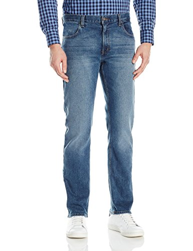 Dickies Herren Regular Straight 5 Pocket Jeans Stretch - Blau - 36W / 30L