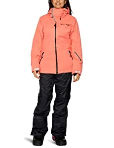 Billabong Women's Selecta Snow Jacket - Coral, Medium