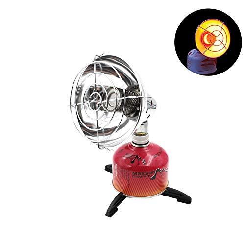 Mini-Gas-Heizer, tragbar, mit Aufbewahrungstasche, für Herbst- und Winter, Camping, Angelzelt.