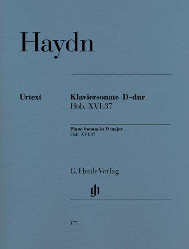 Sonate Hob.XVI:37 Ré Maj. - Piano