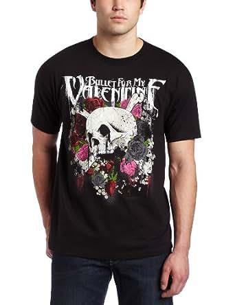 Bullet For My Valentine Skull Roses T-Shirt