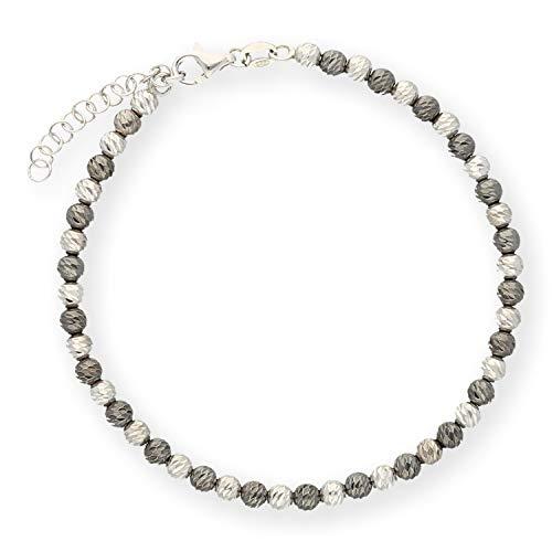 Lillymarie donne argento braccialetto 925 lunghezza regolabile sacchetto per gioielli regali originali