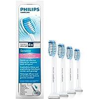 Philips Sonicare HX6054/07 Original Sensitive Aufsteckbürsten Standard, weiß, 4er Pack
