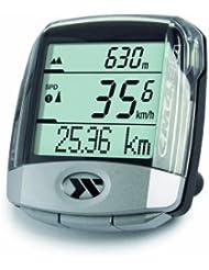 CicloSport 10103600 CM 4.4A - Ordenador para bicicleta, color plateado