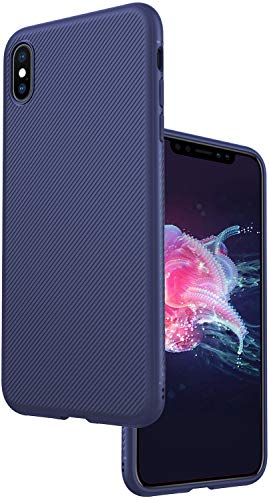 Yocktec Coque pour iPhone XS Max, [Anti-Rayures] Housse de Protection Anti-dérapant Souple en TPU pour iPhone XS Max Smartphone 6.5 Pouces