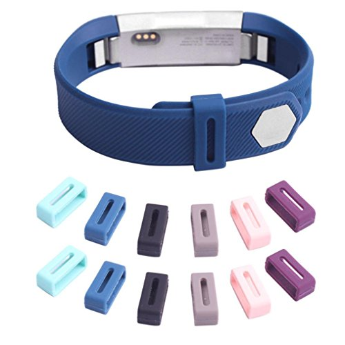 omiky-12pc-luxury-silicone-security-band-clasp-ring-loop-fastener-for-fitbit-alta-watch-band-wrist-s