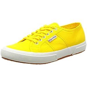 Superga scarpe giallo classic cotu sunflower sneakers 2750