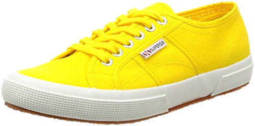 Superga 2750-COTU CLASSIC  Sneakers Unisex - Adulto, Giallo (Sunflower), 35 EU (2.5 UK)