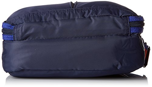Bensimon Damen Pocket Bag Umhängetasche, 7x20x27 centimeters Blau (Marine)