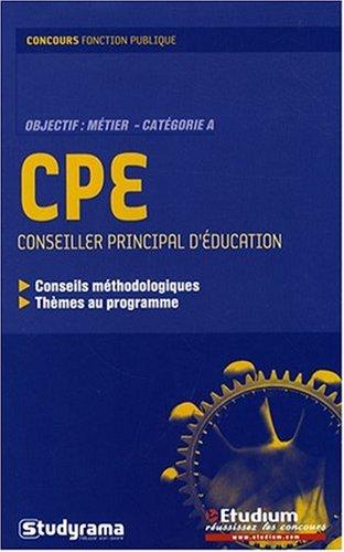 Conseiller principal d'éducation (CPE)