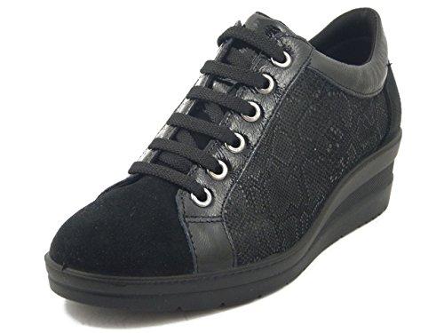 OSVALDO PERICOLI - Zapatillas para hombre negro Size: 41 KxGX4lDCG