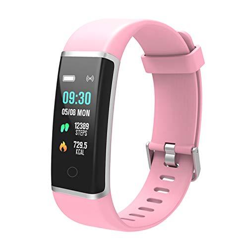 BingoFit Fitness Tracker Unique Impermeabile Sport Orologio Touchscreen Activity Tracker Fitness Braccialetto Pedometro con Contatore Passi e Calorie, Monitoraggio Sonno per Donne Bambini e Uomini