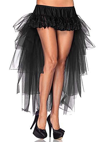 Damen Röcke Steampunk Gothic Viktorianisch Irregulär Cocktail Party -