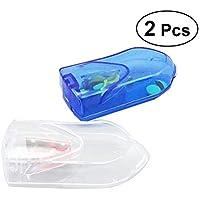 SUPVOX Pille Crusher Splitter Pille Pulverizer Grind Medizin schneiden Tabletten Teiler Aufbewahrungsbox Perfekt... preisvergleich bei billige-tabletten.eu