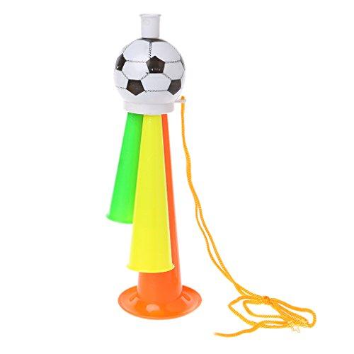 ZJL220 Football Football Acclamations De La Corne Bugle Stade Fan Acclamations pour Les Jeux De Sports Jouets Cadeau 02