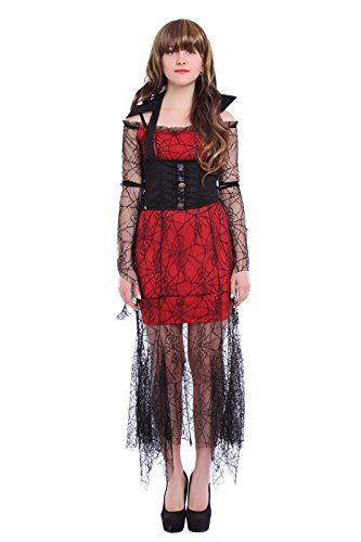 Halloween Vampire Costumes Womens Gothic Queen Dress steampunk buy now online