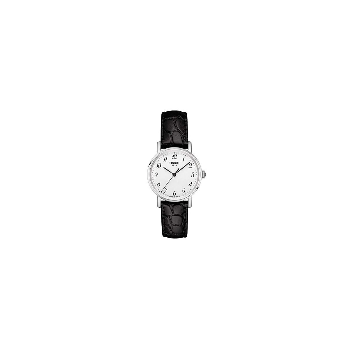 41RmiPDrf1L. SS1200  - Tissot Reloj Analógico para Unisex Adultos de Cuarzo con Correa en Cuero T1092101603200