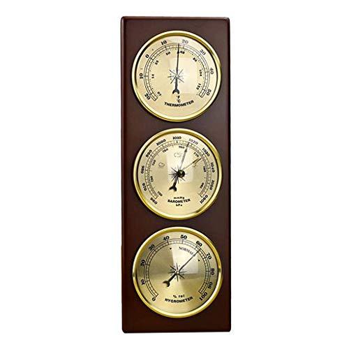 TOOGOO BaróMetro de Pared TermóMetro HigróMetro EstacióN MeteorolóGica Colgante Hogar/Oficina Material...