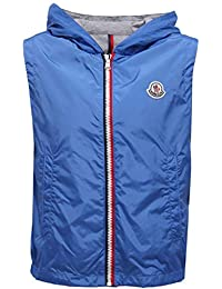 MONCLER 2660Y Giacca antivento Smanicato New DENEB Boy Wind Stopper Blue