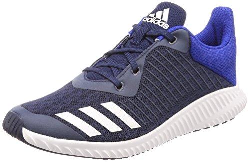 adidas Unisex-Kinder FortaRun K Gymnastikschuhe, Blau (Collegiate Navy/FTWR White/Collegiate Royal), 36 EU