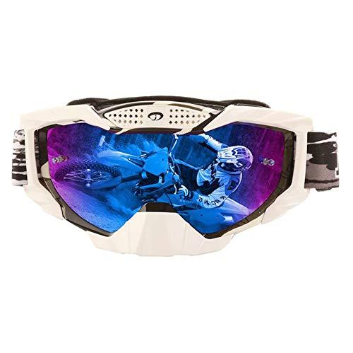 Lafeil Sportbrille Fahrrad Herren Damen Herren Motorradfahrer Ausgestattet Mit Off Road Brillen Skibrillen Sand Schutzbrillen Outdoor Reitbrillen Schwarz Bunt